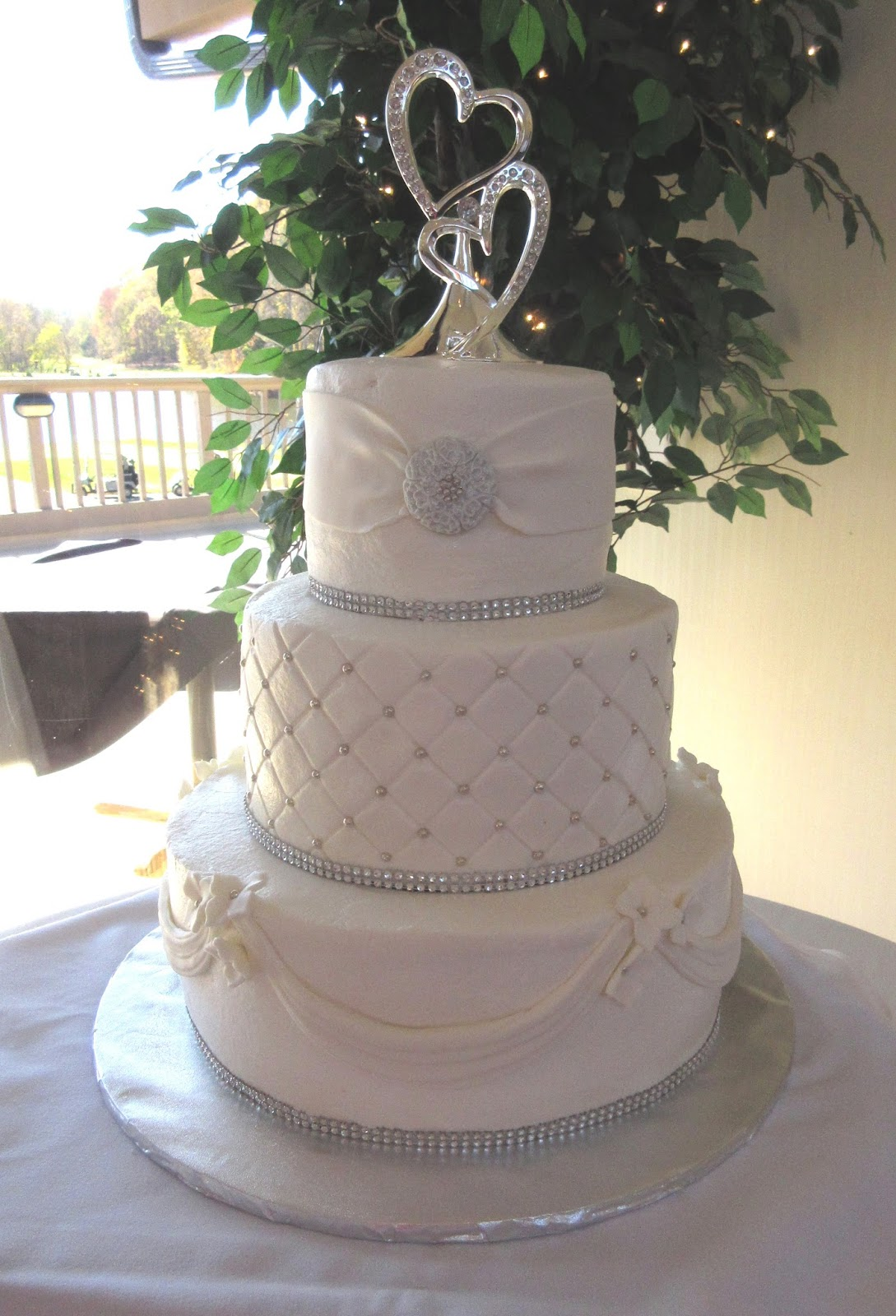 Wedding Cakes By Mary Ann  Elegant Wedding Cake Wedding Cakes By Mary Ann