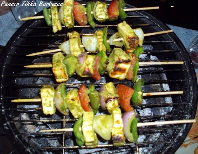 Barbecue Paneer Tikka