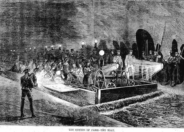 Paris sewers tour 1870 illustration 2