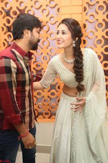 Raashi Khanan looks stunning in Crop Top Deep neck Choli Ghagra Transparent Chunni WOW ~  Exclusive Celebrities Galleries 058.JPG