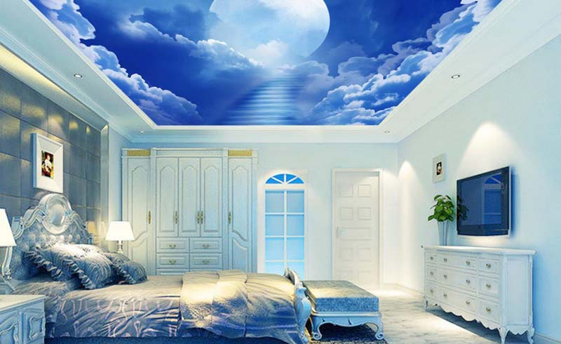 wallpaper ceiling, ceiling ideas, wallpaper ideas, design ideas, design
