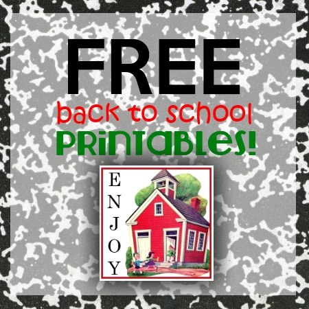 It is an image of Nifty Back to School Free Printables