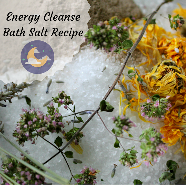 Energy Cleanse Bath Salt Recipe