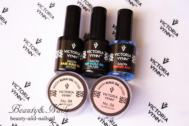 Przedłużanie paznokci na formie, Cover Blush No.06 - Victoria Vynn.