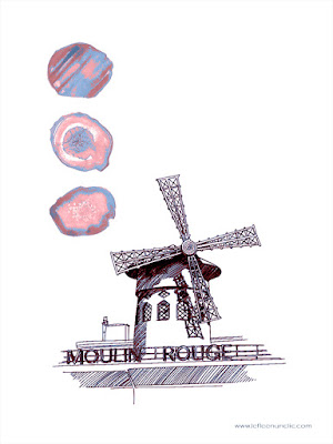 le moulin rouge, Paris, FLE, le FLE en un 'clic'