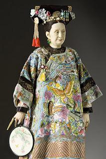 Portrait of Empress Dowager Tzu Hsi aka. Cixi by George Stuart