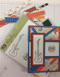 Love the  scraps - zena kennedy stampin up demonstrator