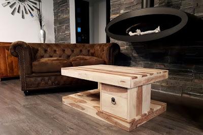 konferečné stolíky Reaction, nábytok do obývačky, nábytok z masívu