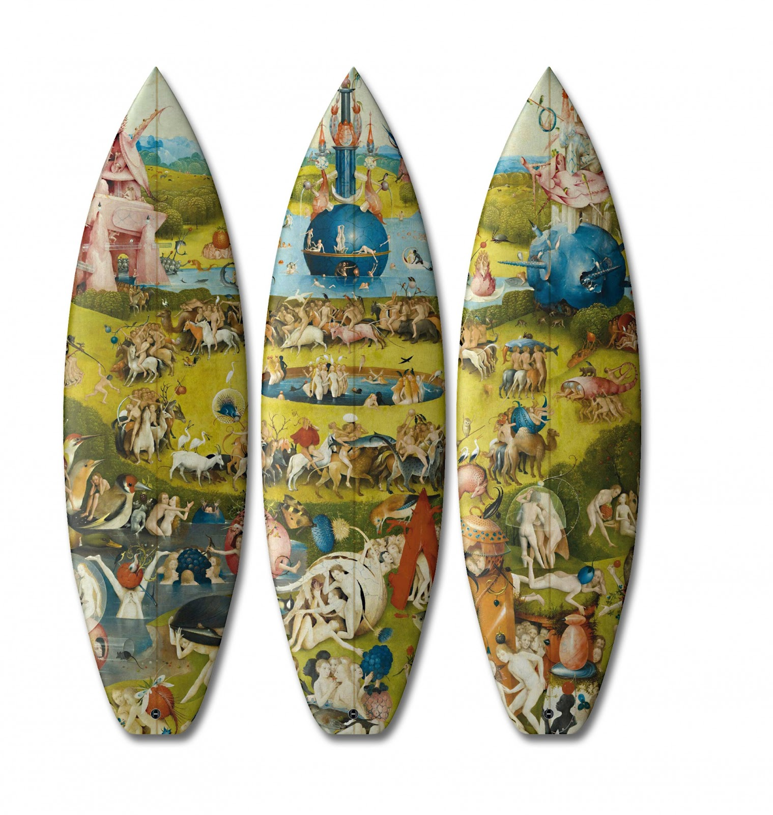 Arte clásico y surf: la obsesión de los franceses Boom-Art