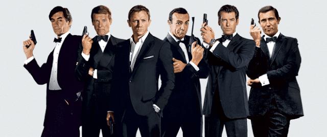 Toate filmele cu James Bond 007