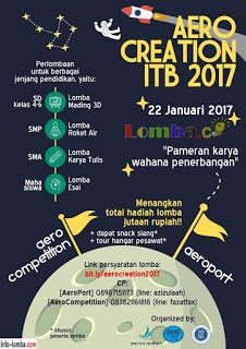 Event AEROCREATION 2017 by Institut Teknologi Bandung