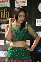 Nandita Swetha in a tight Green Choli Ghagra at IIFA Utsavam Awards March 2017 ~ 068.JPG