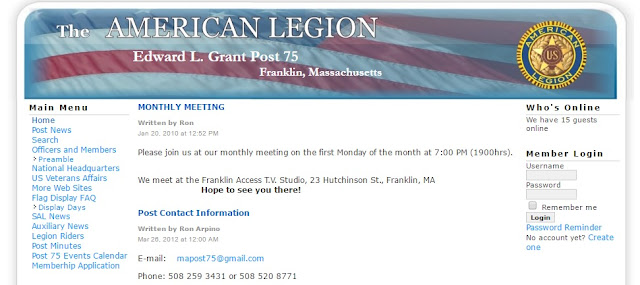 American Legion Edward L. Grant Post 75