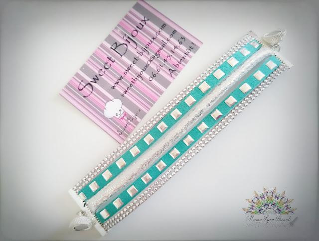 manchette-bijoux-bracelet-tendance-vert-mint-sweet-bijoux