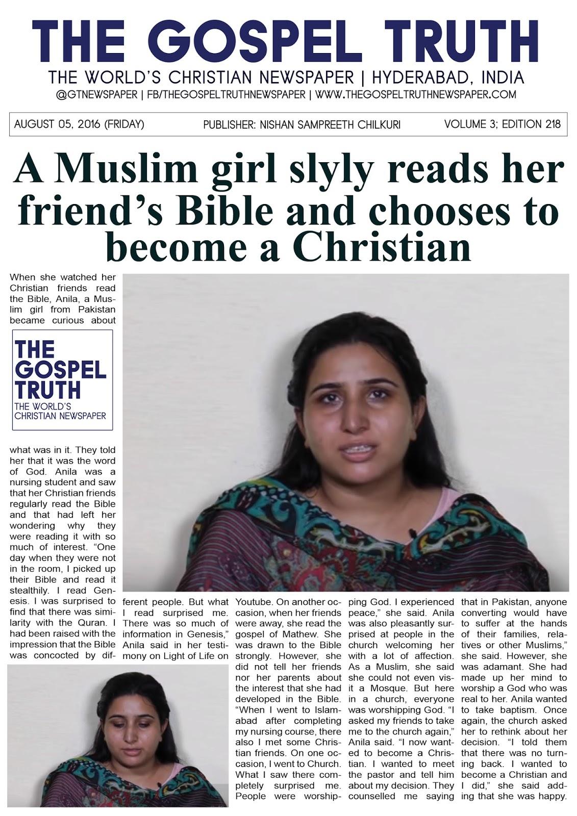 Muslim Girl Christian