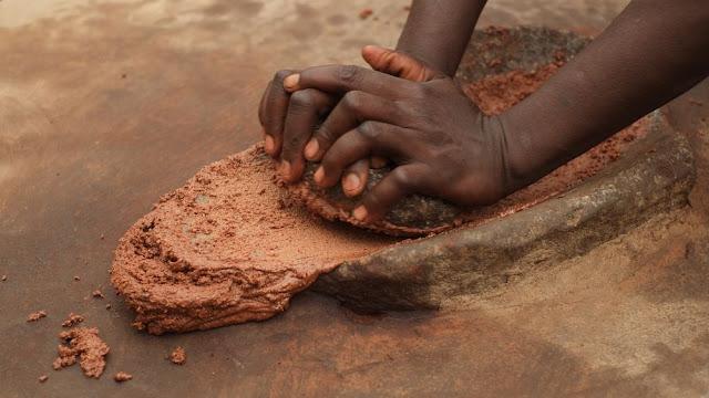 Extraction du beurre de karité - Elephas, savon - Blog beauté