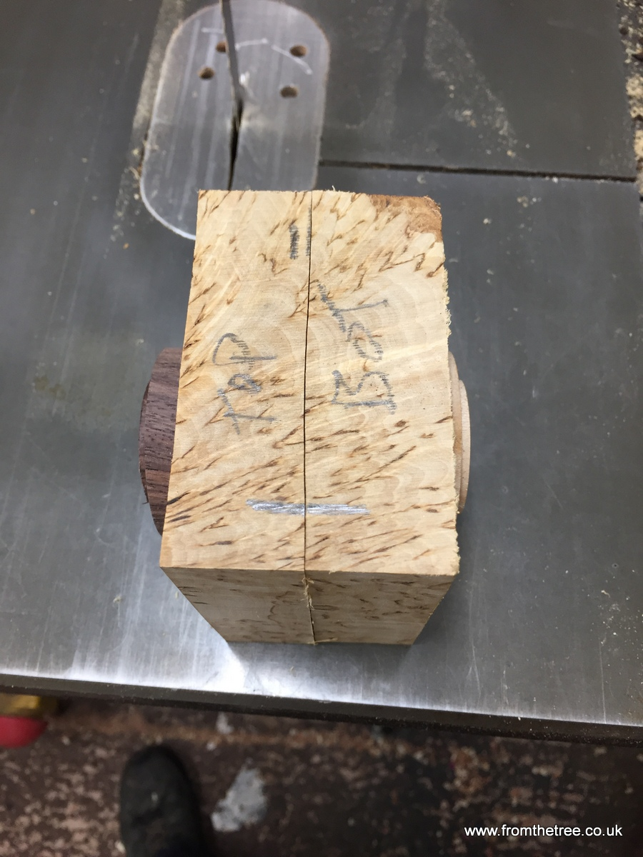 Birch Bandsaw Box ~ Fromthetree woodturning by george watkins masur birch box