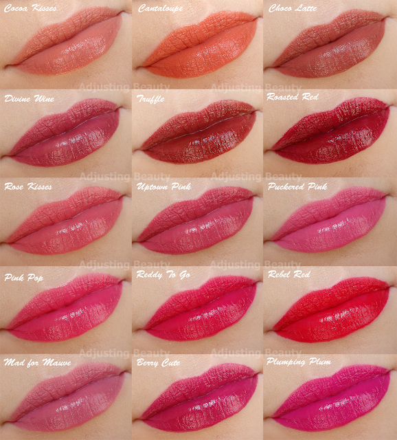 Review Avon Mark Plump It Lipsticks All Shades Adjusting Beauty