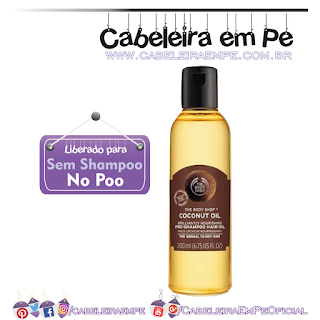 Óleo de Coco - The Body Shop (No Poo)