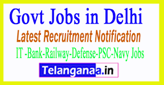 Latest Delhi Government Job Notifications