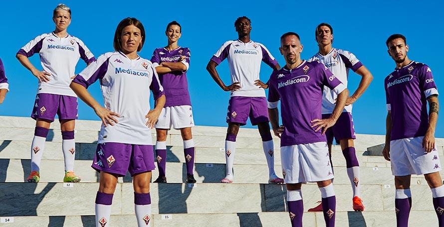 Kappa Fiorentina 20-21 Home & Away Kits Released - No More Le Coq Sportif -  Footy Headlines
