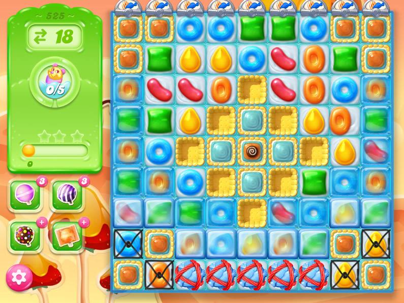Candy Crush Jelly Saga 525