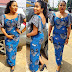 Check Out This Styles : Beautiful Simple Ankara Long Gown Styles