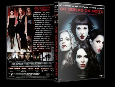 Capa DVD As Donas da Noite