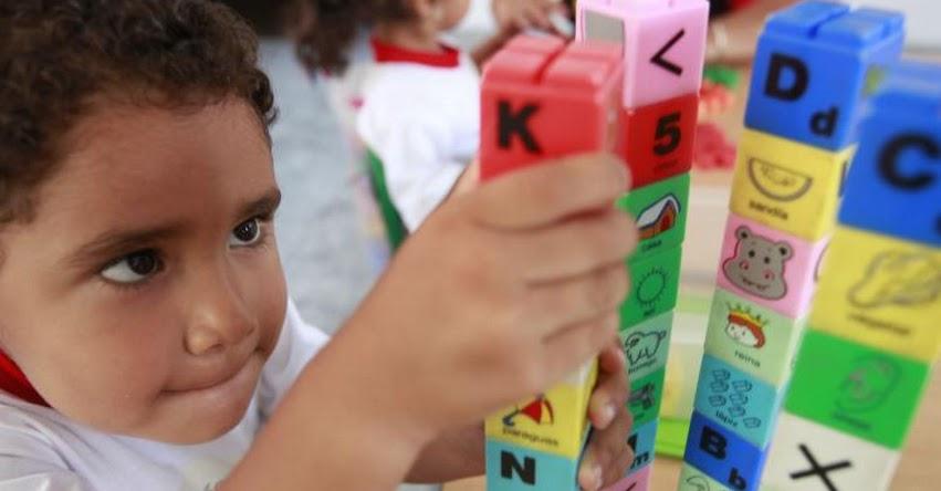 MINEDU: Se debe potenciar ejercicio mental en la educación inicial a través del juego (Marilú Martens Cortés) www.minedu.gob.pe