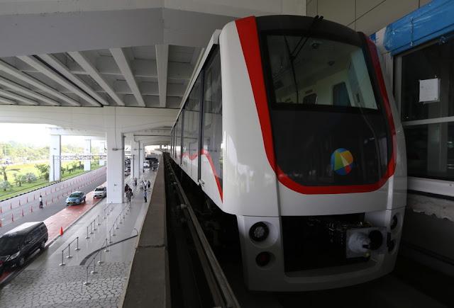 Skytrain Di Bandara Soekarno-Hatta Resmi Dioperasikan Hari Ini