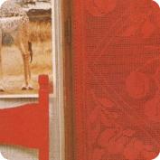 Cortina Roja Crochet