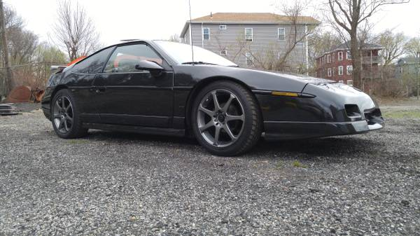 Find This 1987 Pontiac Fiero GT For Sale In Worcester MA 4800 Via Craigslist