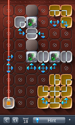 Solution for Laser Box - Puzzle (Advanced) Level 18