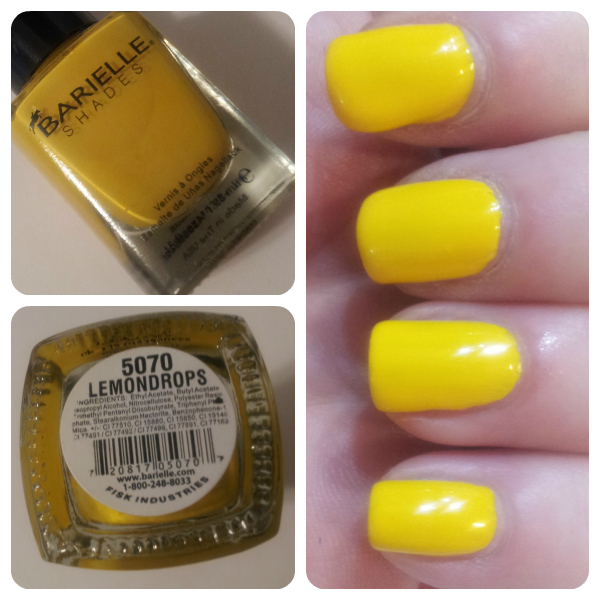 Barielle Lemondrops Swatch
