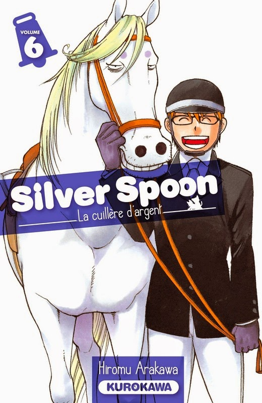 Silver Spoon: couverture du tome 6