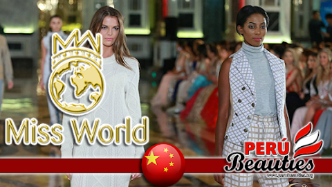 Top Model, 1436 Collection Catwalk - Miss World 2015