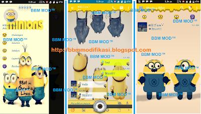 download bbm minion v 2.12