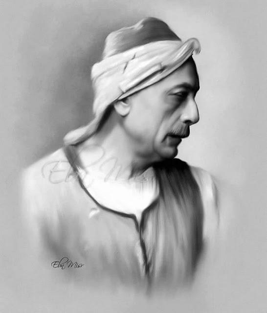صور ورسومات بالرصاص ولوحات زيتية ل محمود المليجى