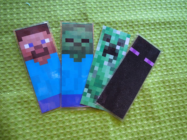 minecraft bookmark template - red rocks and beyond jj 39 s epic minecraft party