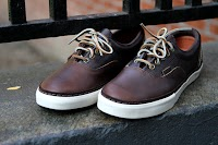 Era Horween Leather Vans