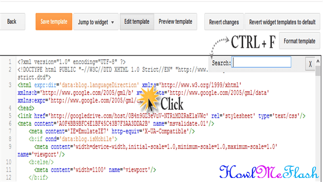 open blogger search box ctrl%2Bf