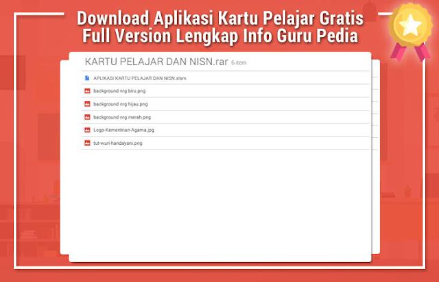 Aplikasi Kartu Pelajar Gratis Full Version Lengkap Info Guru Pedia