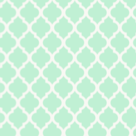 light green quatrefoil paper