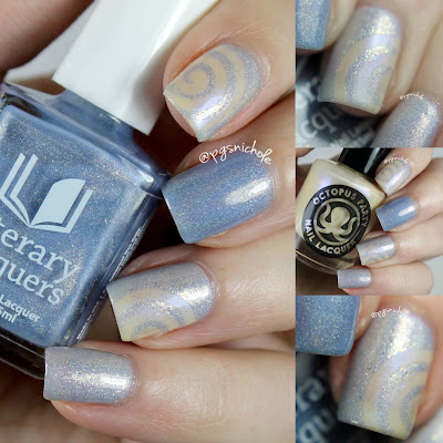 Octopus Party Nail Lacquer + Literary Lacquer: Winter 2015 Duos