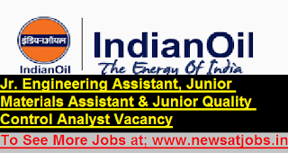 iocl-engineer-staff-Assistant -Recruitment