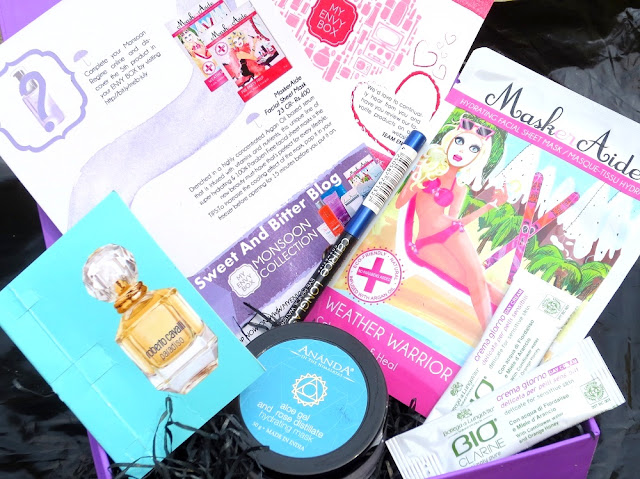 My Eny Box July Monsoon Special Beauty Box