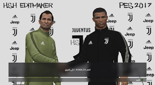 PES 2017 Juventus 2018-19 Press Room And Manager Kits By H.S.H EditMaker
