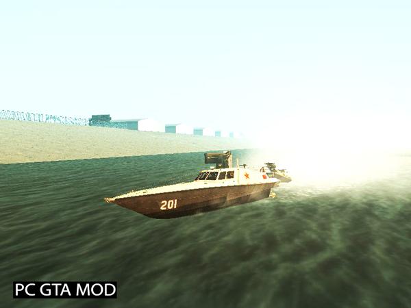 Free Download DV-15 Interceptor BF4 Mod for GTA San Andreas.
