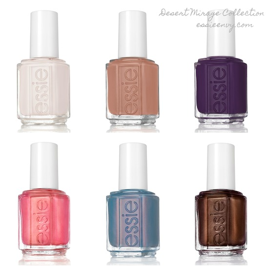 Coming Soon : Essie Desert Mirage 2018 Collection | Essie Envy