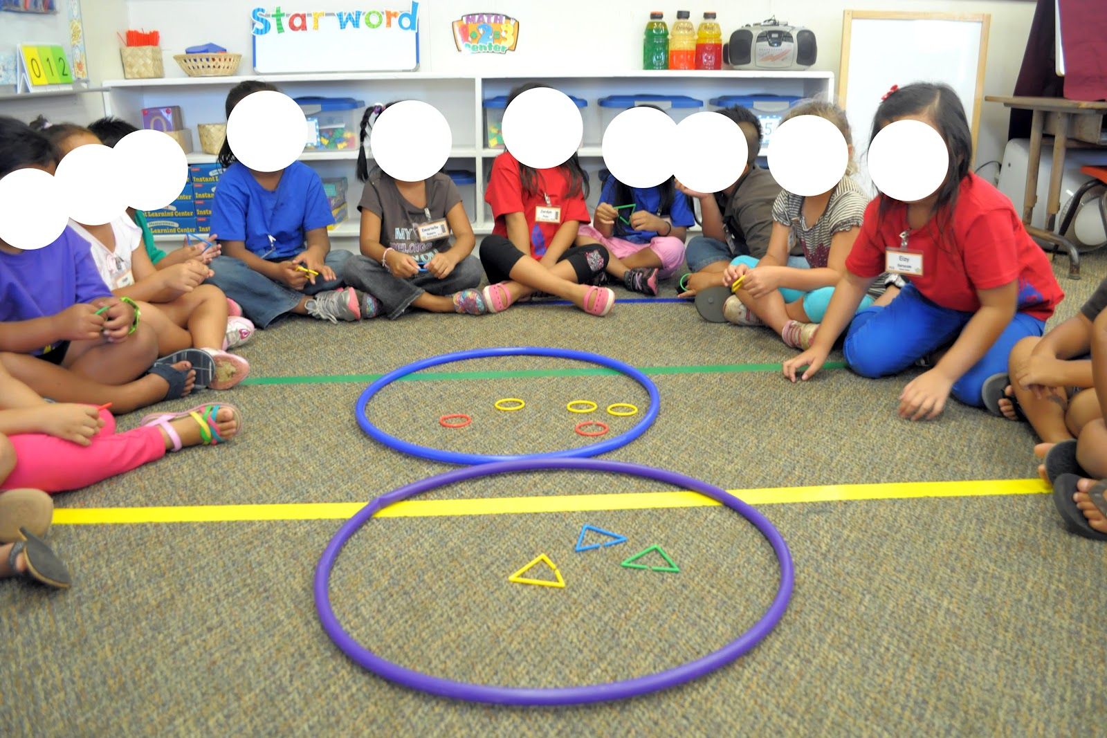 Kindergarten Shape Activities